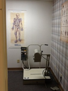 Our x-ray room
